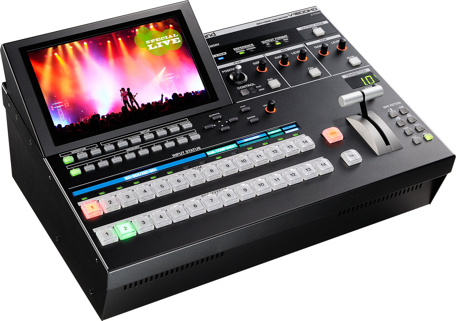 Videotechnik, Videopult von Roland V-1600HD