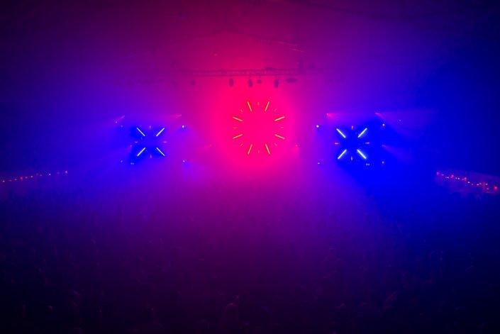 We Love Techno, Lasershow and Soundsystem by USL Veranstaltungstechnik