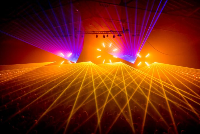 Lasershows der Extraklasse für Ihren Event.
