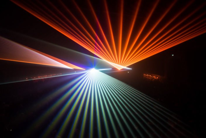 Lasershows and special Lighteffects