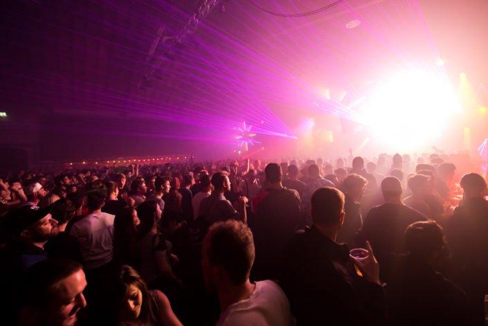 We Love Techno Lasershow und Lichteffekte