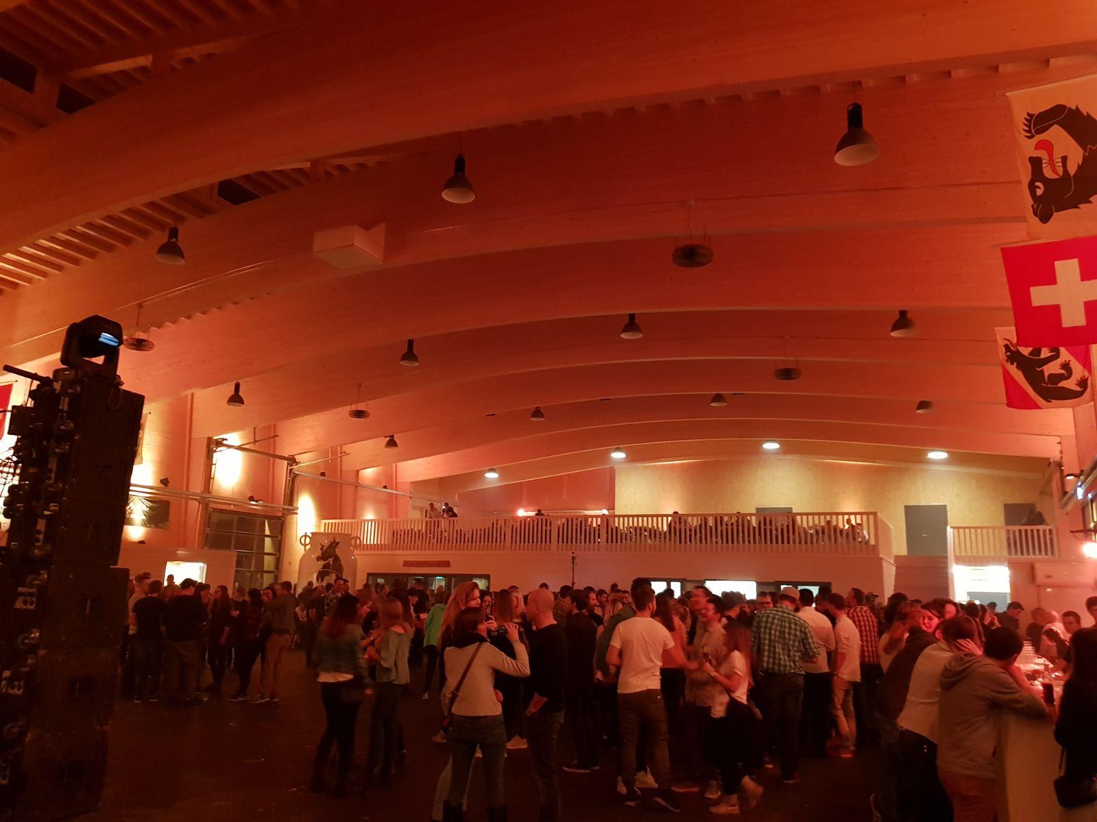 Eröffnung Simmenthal Arena