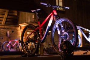 Beleuchtung Fahrrad an Bike Expo 2018