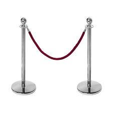 Mobiliar: Personenleitständer rote Kordel