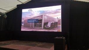 LED Screen Wand von USL Veranstaltungstechnik. Ihr Partner für den perfekten Event.