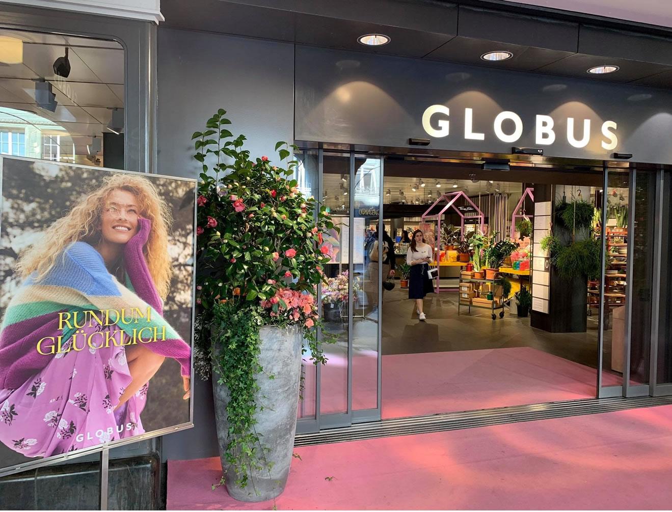 Frühlingsgefühle im Globus Bern City mit USL Veranstaltungstechnik