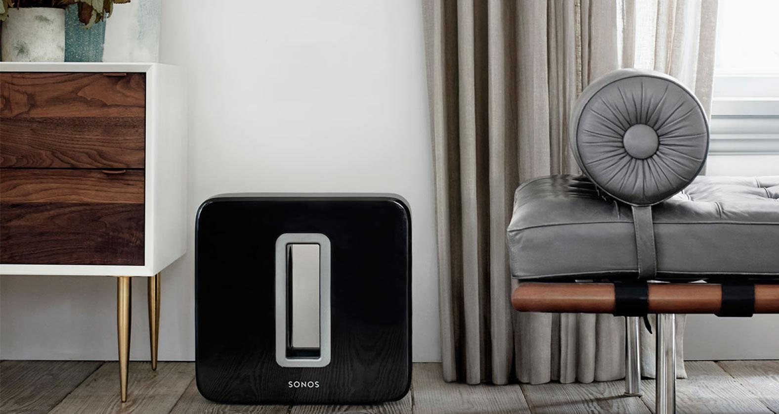 Eleganz trifft Qualität. Sonos erhältlich bei USL Veranstgaltungstechnik
