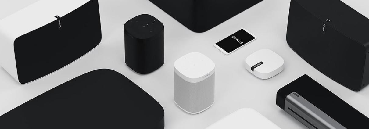 Home Sound System von Sonos. USL Veranstaltungstechnik ist Partner von Sonos