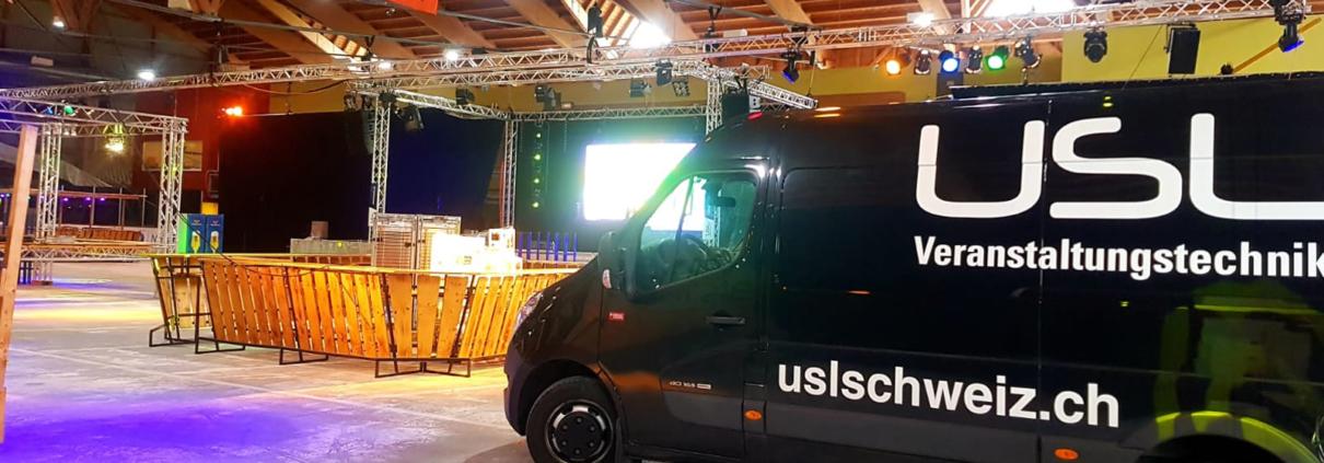 Top Events mit der Technik von USL Schweiz