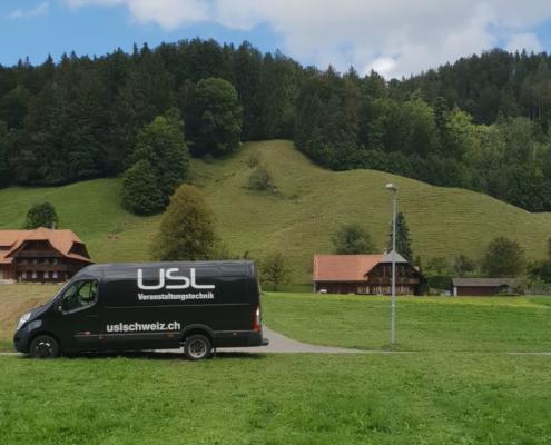 Für Sie an jedem Event im Einsatz. USL Schweiz