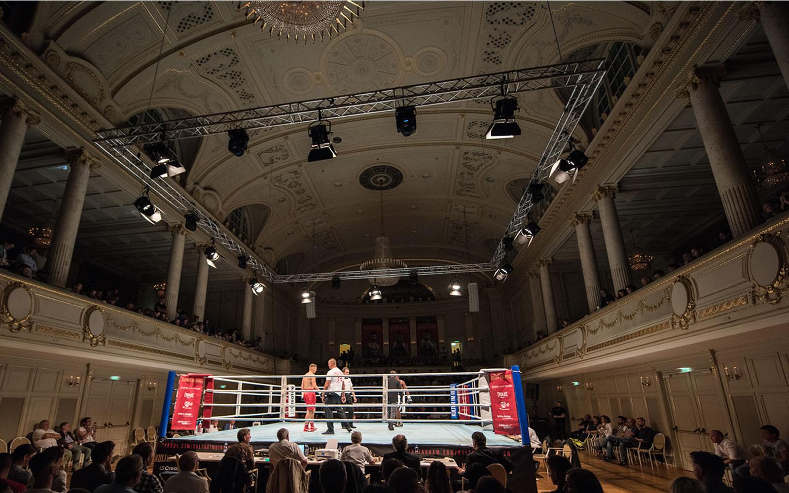 Kultur am Ring im Kulturcasino Bern mit der Technik von USL Eventtechnik. Rigging für Ihren Sportanlass