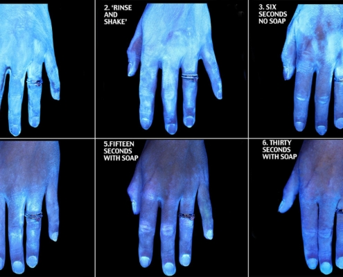Hände waschen hilft Infektionsschutz